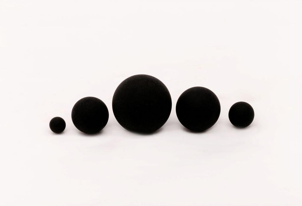Esfera de borracha maciça