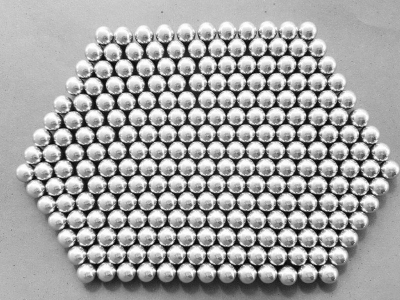 Esferas de aço cromo