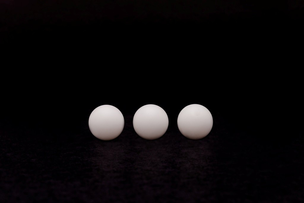Esferas plásticas