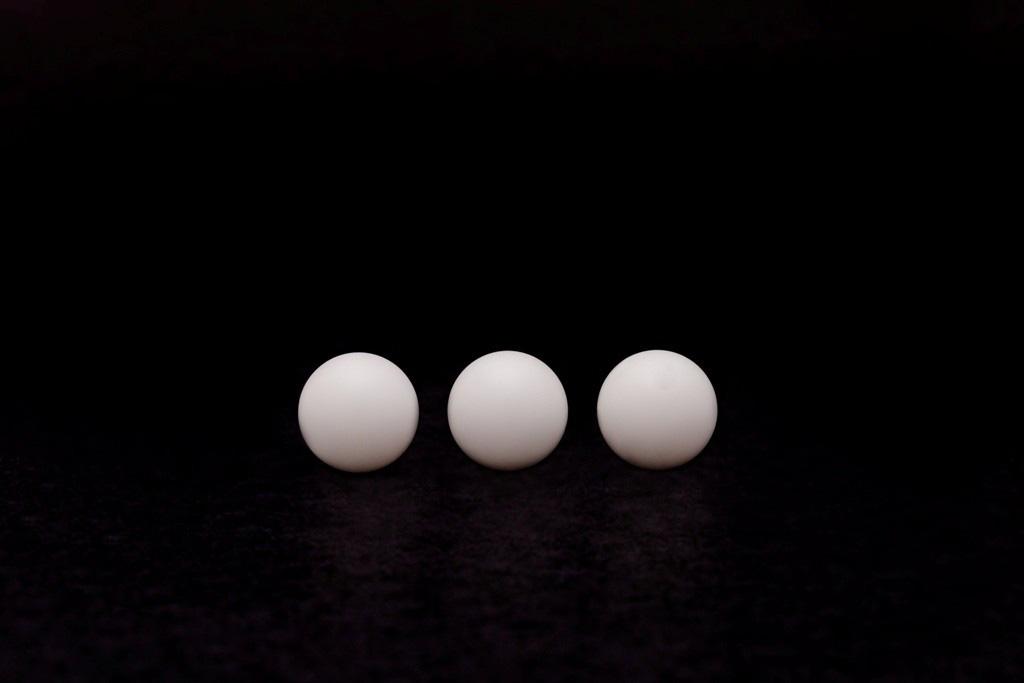 Esferas de poliacetal