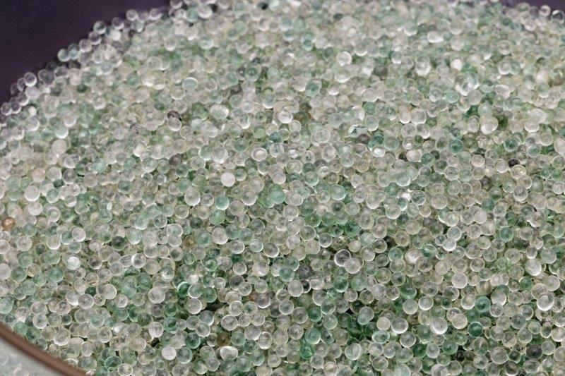 Esferas de vidro para moagem