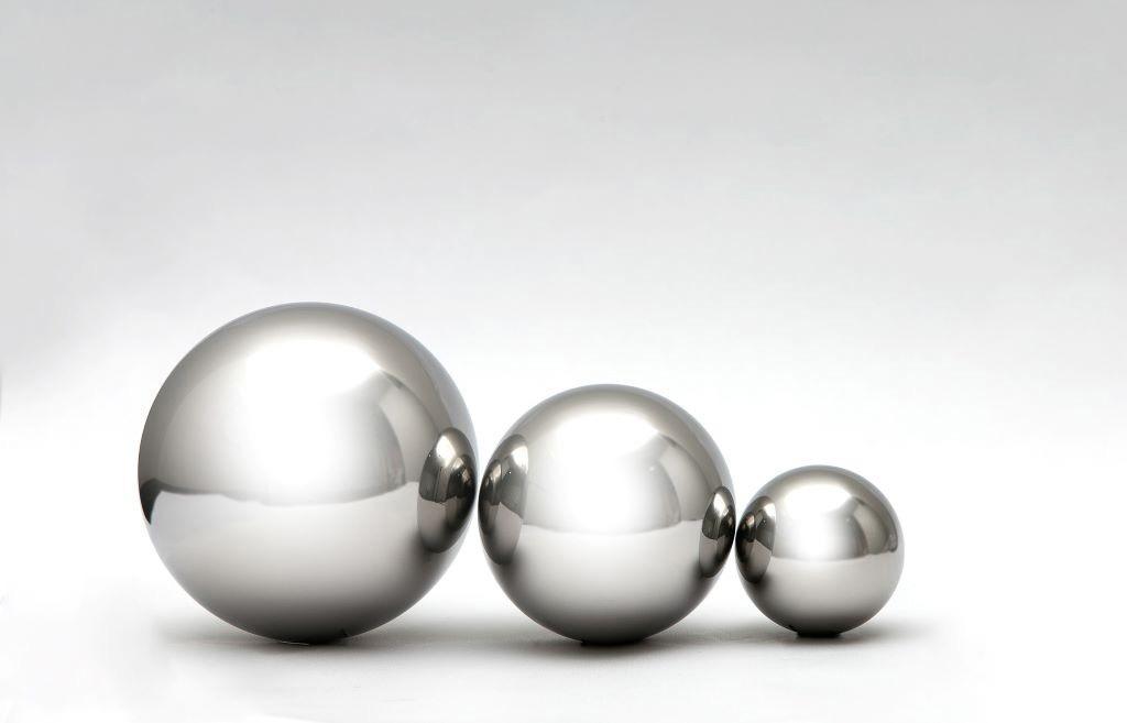 Esferas de aço para solda