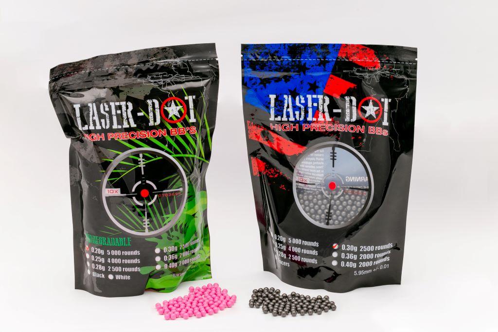 Esferas para Airsoft Laser Dot