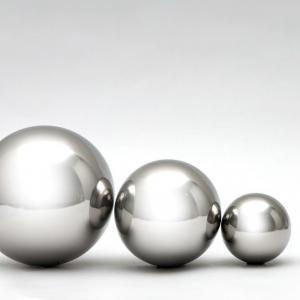 Esferas de aço inoxidável