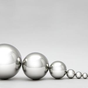 Esferas de aço inox